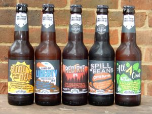 Selection of Aldi beers