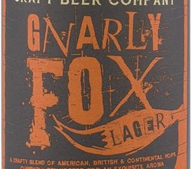 Gnarly Fox Lager