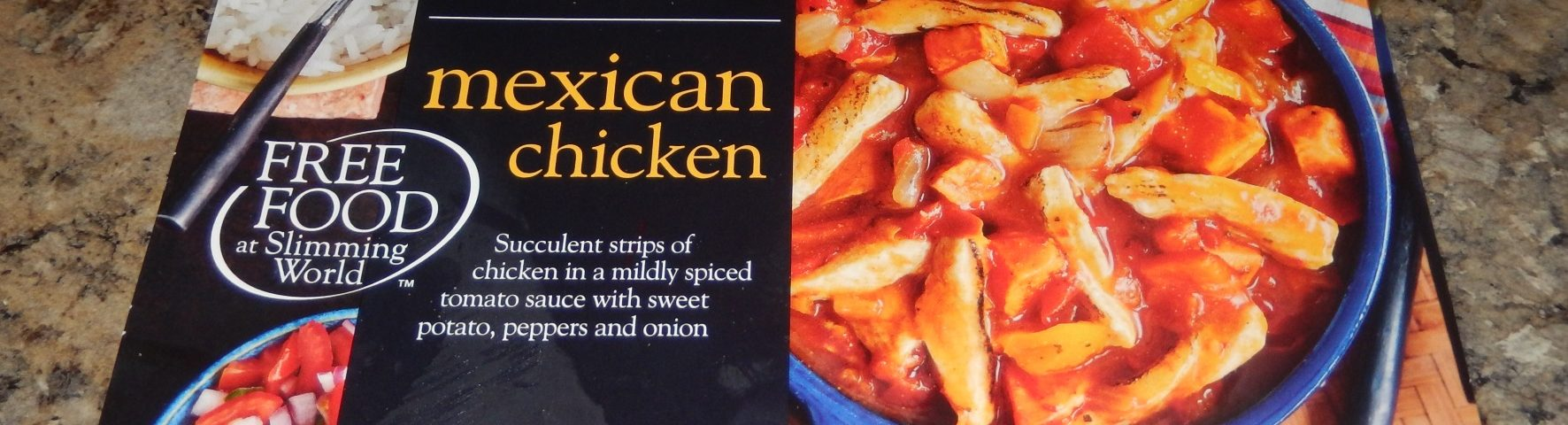 Slimming World Mexican Chicken Packaging